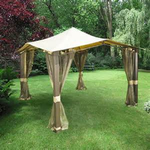 Backyard Creations Gazebo With Awning Reviews Backyard Creations Replacement Canopy 2017 2018 Best