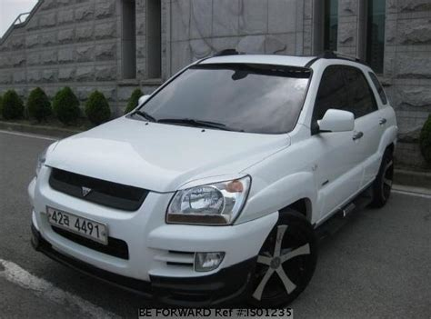 Kia Japan Used Sportage Kia For Sale Is01235 Japanese Used Cars