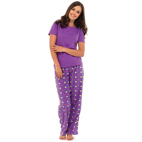 Ladi Set womens pj fleece pyjamas sets wear mushrooms