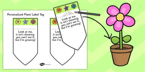 plant tag template plant label template plants labels templates leaves leaf