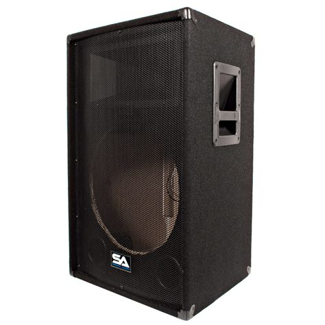 empty plastic speaker cabinets seismic audio empty 15 inch pa dj band speaker