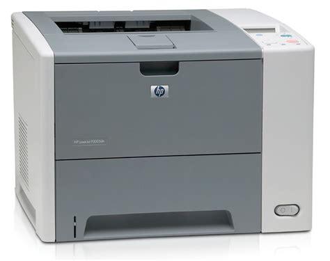Printer Laser Duplex hp laserjet p3005dn workgroup network laser printer