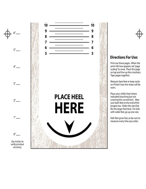 shoe size chart download kids shoes and boots sizing chart free download