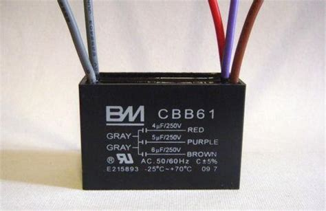 cbb61 capacitor switch ceiling fan capacitor 5 wire ebay