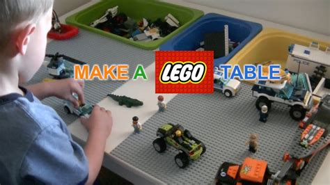 how to make a lego bench how to make a lego table diy justgiveitago
