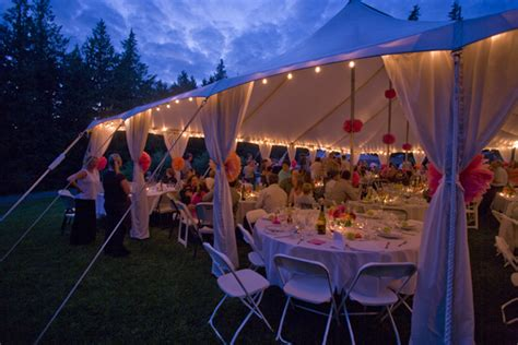 Outdoor Tent Lighting String Lights Commercial Lighting Rental Burlington Bellingham Pacific Canopies