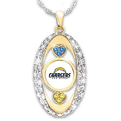for the of the san diego chargers 18k gold