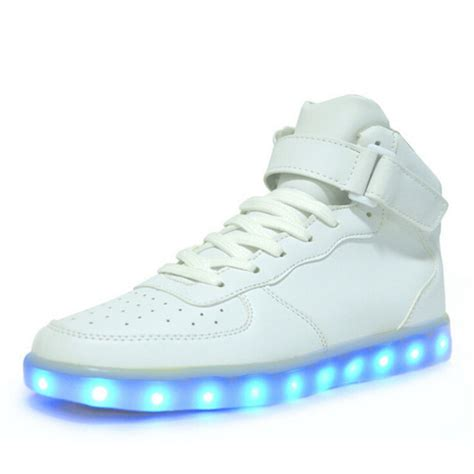 light up air force ones shoes nike air force 1 light up shoes high top sneakers