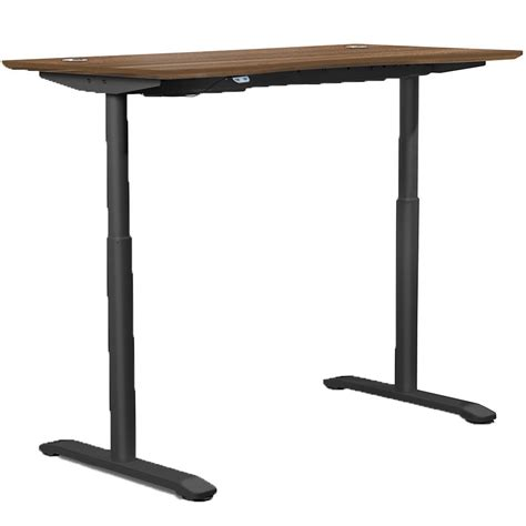 Adjustable Height Office Desk In Desks And Hutches Adjustable Height Office Desk