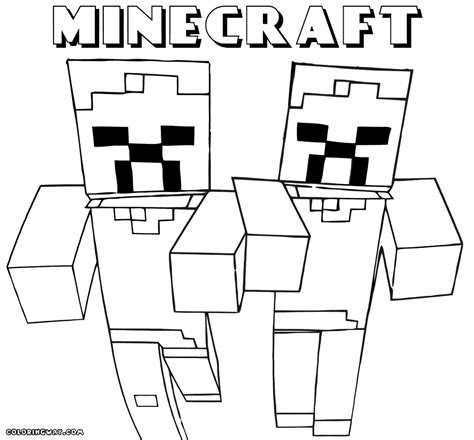 coloring pages minecraft print minecraft coloring pages coloring home