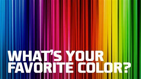 what is your favorite color what s your favorite color branding for the
