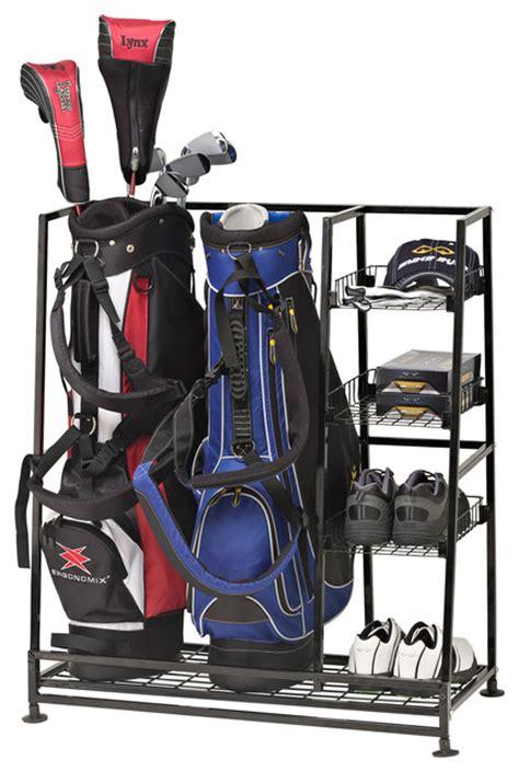 garage golf bag organizer jj international golf bags organizer garage and tool
