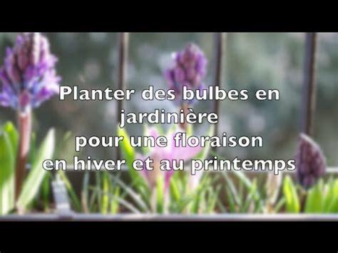 Planter Des Pensées En Jardiniere by Planter Des Bulbes En Jardini 232 Re Pour Une Floraison En