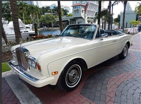 rolls royce corniche for sale 1985 rolls royce corniche magnolia convertible for sale