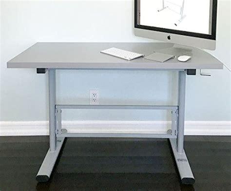 sit stand desk leg kit manual height adjustable standing desk leg frame stand up