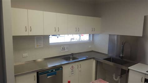 Commercial Kitchen Installation by Local Childcare Centre Phl Metal Fabrication