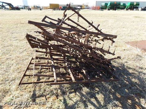 section harrow approximately 6 harrow sections for sale guthrie ok