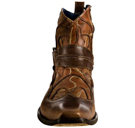 nason boots nason rock lives cognac stitched leather basemint