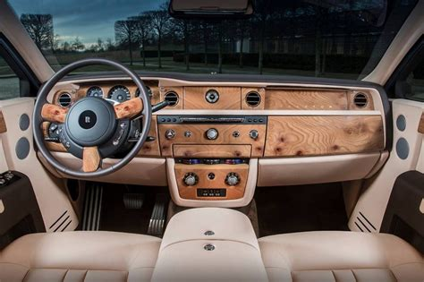 roll royce wood rolls royce phantom extended wheelbase is one pink rr