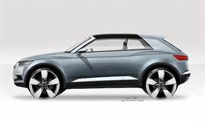 Audi Crosslane Coupe Audi Q2 Crosslane Coupe Concept Rendering Side View Photo
