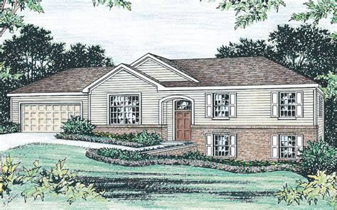 raised ranch home plans raised ranch house plans