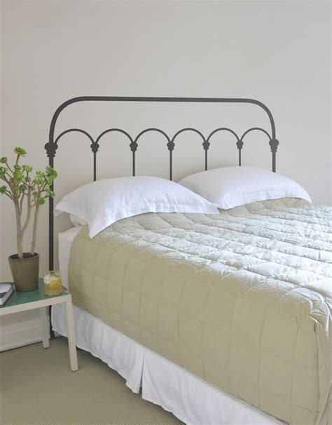 1000 ideas about iron headboard on wrought