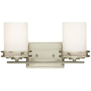 Ferguson Bathroom Lighting Kk5077ni Hendrik 2 Bulb Bathroom Lighting Brushed Nickel At Shop Ferguson