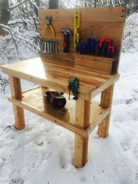 tool bench for 2 year old kids pallet workbench