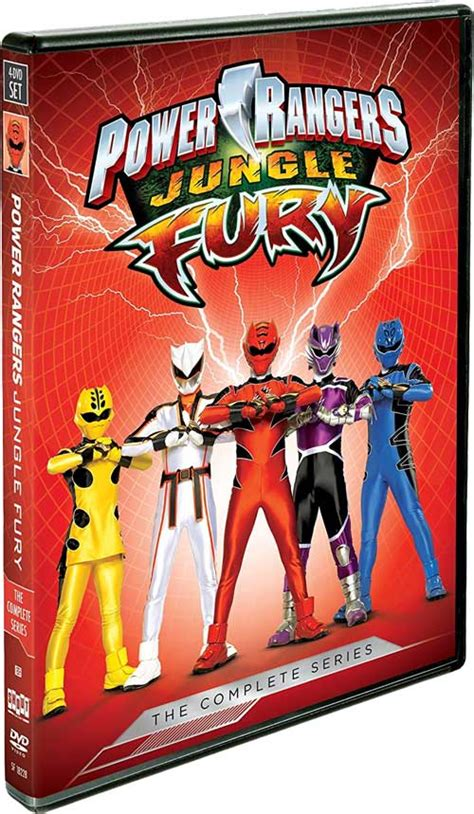 Dvd Power Ranger Jungle Fury Power Rangers Jungle Fury The Complete Series Dvd Release