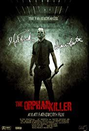 Plakat Filmu Kiler by The Orphan Killer 2011 Imdb