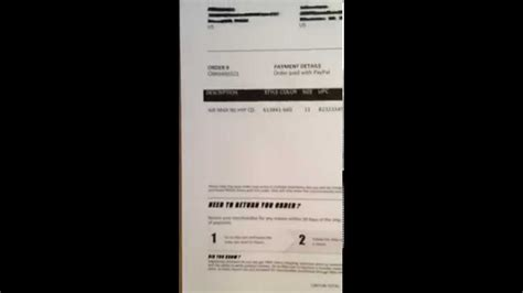 Foot Locker Receipt Template by Footlocker Receipt Template Professional Receipt