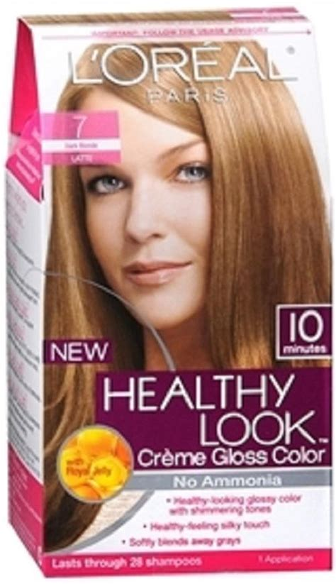 loreal creme gloss hair color no ammonia hair dye ebay loreal healthy look creme gloss hair color no ammonia you choose the shade ebay