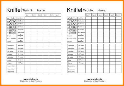 Etiketten Drucken Excel Vba by 9 Kniffel Vordruck Excel Avant Trash