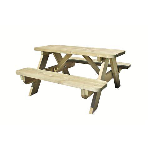 table de jardin pour enfants foresti 232 re rectangulaire vert