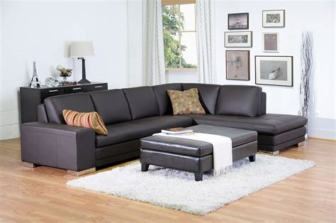 baxton studio callidora brown leather sectional sofa with left facing chaise callidora brown leather sectional sofa with right facing