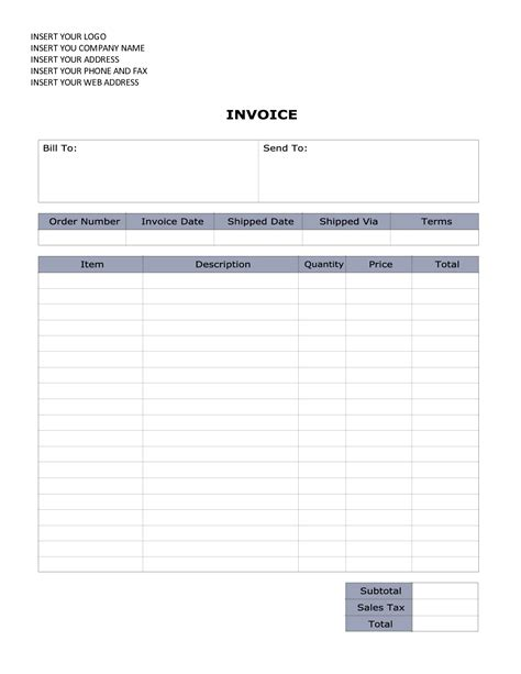 invoice template word 2010 word 2010 invoice invoice design inspiration