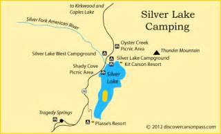 map of silver lake california silver lake