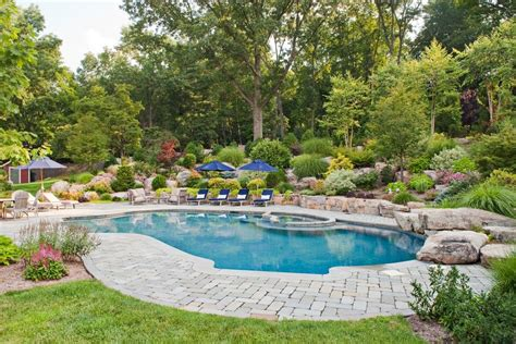 pool landscaping pool traditional with pool traditional
