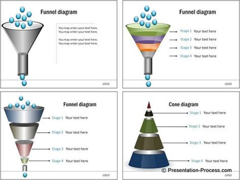 funnel diagram powerpoint template admin business process management
