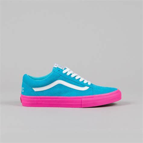 Vans Oldschool Golfwang Murah vans syndicate skool pro s golf wang blue pink flatspot
