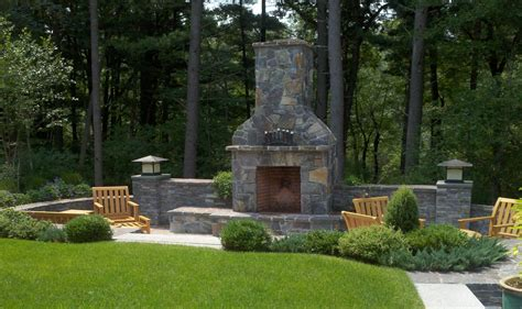 backyard chimney design guide for outdoor firplaces and firepits garden