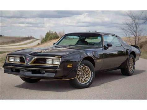 1977 pontiac trans am firebird 1977 pontiac firebird trans am for sale classiccars