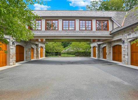 3 Car Garage Apartment Plans 12 000 Square Foot Stone Mansion In Armonk Ny Homes Of