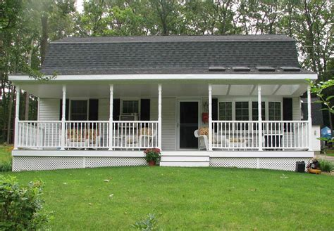 Single Story Cape Cod by Home Partners Deck Or Porch