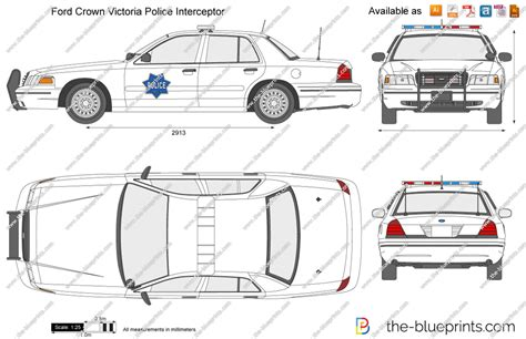 crown victoria coloring page ford crown victoria police interceptor drawings sketch