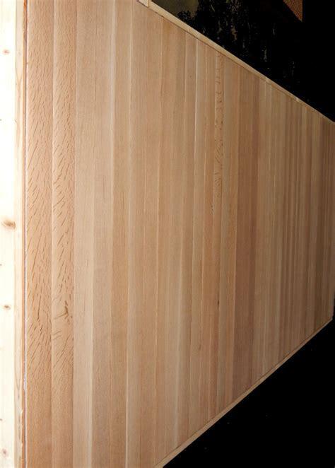 Large white oak sliding door ? Non warping patented