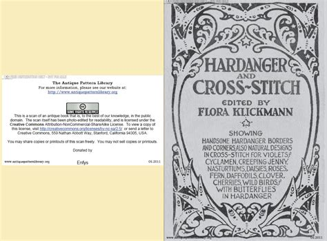 antique pattern library hardanger apl b en001 flora klickmann hardanger and cross stitch