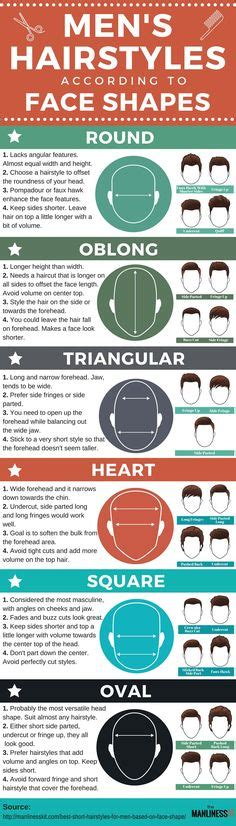 haircut based on your shape men s hairstyle hairstyles and popular on pinterest