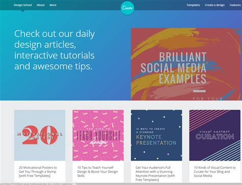 Canva School | canva a design tool for the non designer