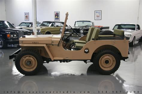 1949 willys jeep 1949 willys jeep classic car studio